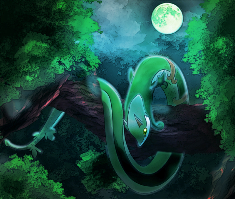 Serperior by ctpro on DeviantArt