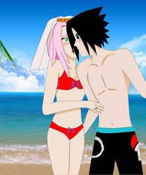 Sasuke X Sakura luna de miel by Sasukechile16