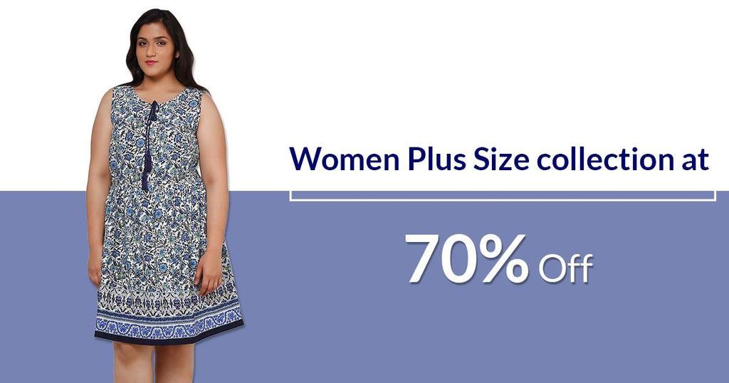 Plus size dress online india