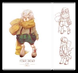 Character Design Trade: tiny-mint