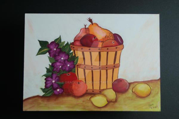 Cesta de frutas by gracepaint