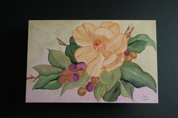 Magnolias by gracepaint