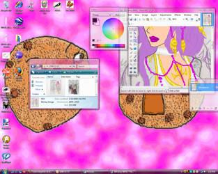 Cookie Desktop by mylovelyghost