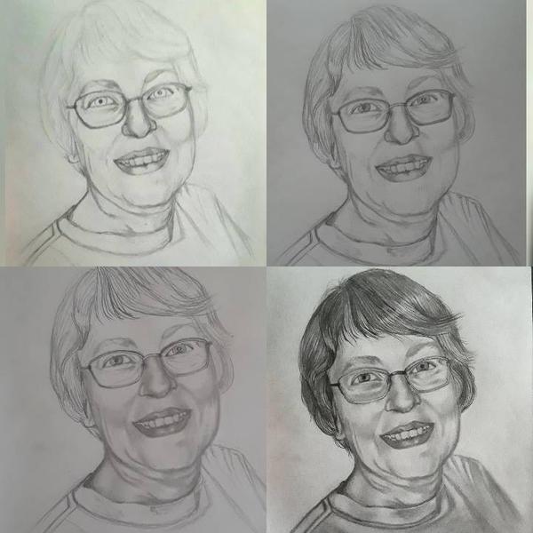Betty progress by mylovelyghost