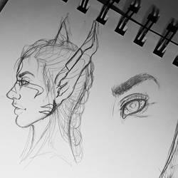 sketch by mylovelyghost