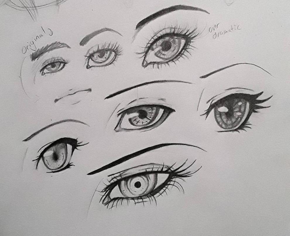 eye styles by mylovelyghost