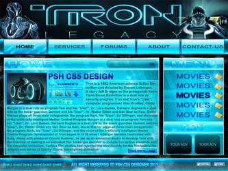 TRON WEB THEME by PSH-CS5