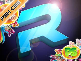 3D photoshop design by PSH-CS5