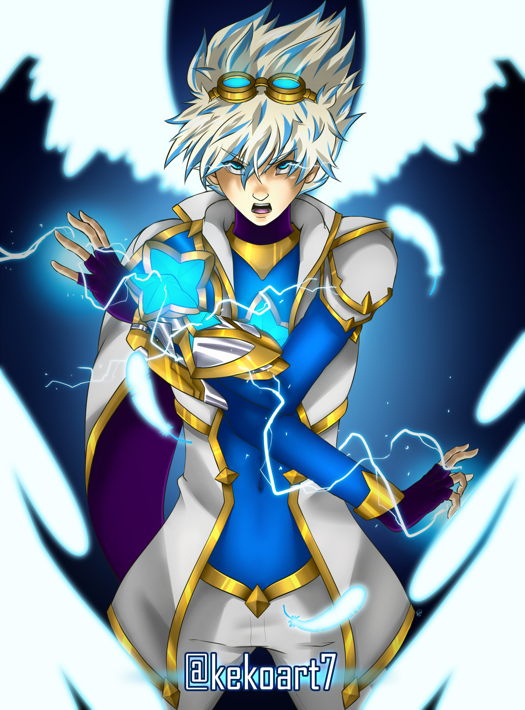 Star Guardian Ezreal by KekoArt97 on DeviantArt