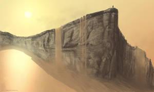 Sandfalls