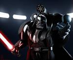 Emperor Power (WH40k style Darth Vader)