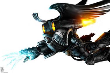 Corvus Corax by TheMaestroNoob