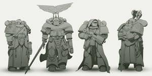 Dark Angels re-design.