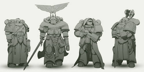 Dark Angels re-design.