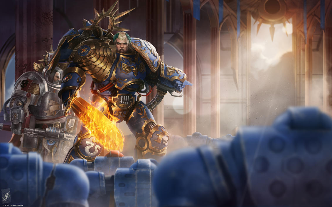 Roboute Guilliman, Lord of Ultramar. by TheMaestroNoob