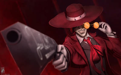 Alucard from Hellsing by TheMaestroNoob