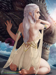 Daenerys Targaryen by TheMaestroNoob