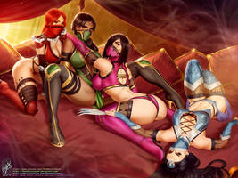 Mortal Kombat girls
