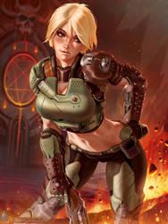 DOOMgirl (No Helmet)
