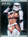 Stormtrooper (NSFW) by TheMaestroNoob