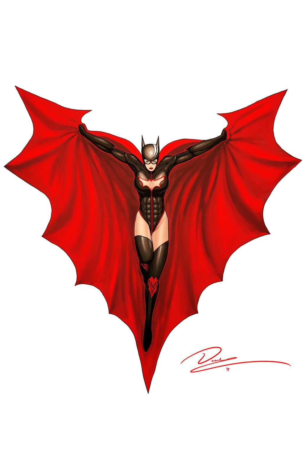 Scarlette Fusion: Batgirl Beyond by Durandus