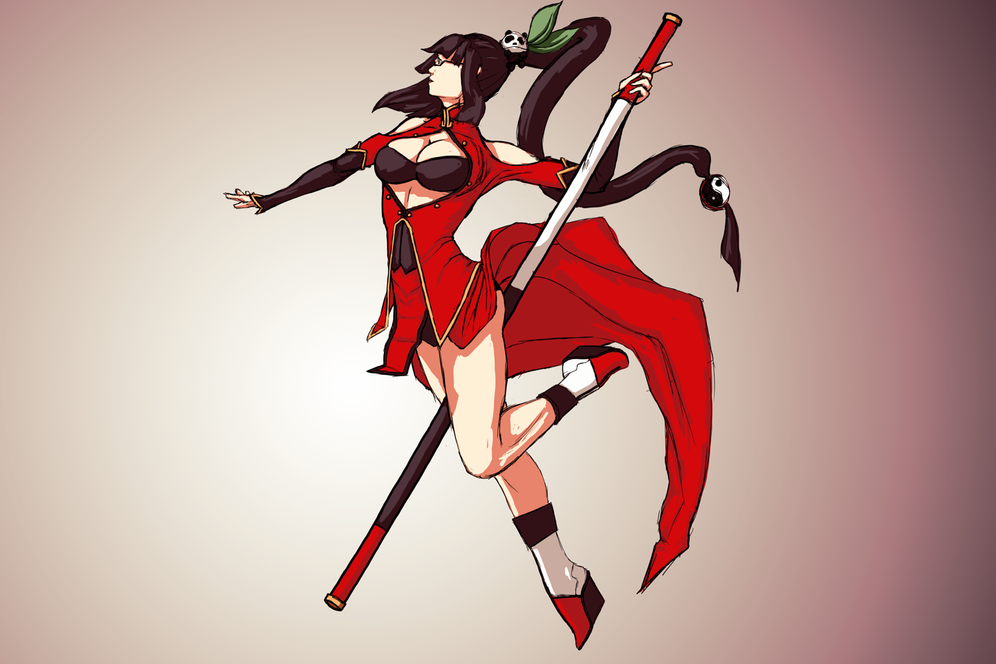Litchi Faye Ling color sketch by Durandus