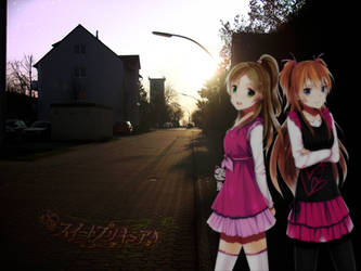 Pretty Cure Photo Manipulation by SkyDX