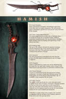 Hamish - Vermillion's Weapon by Kharnage