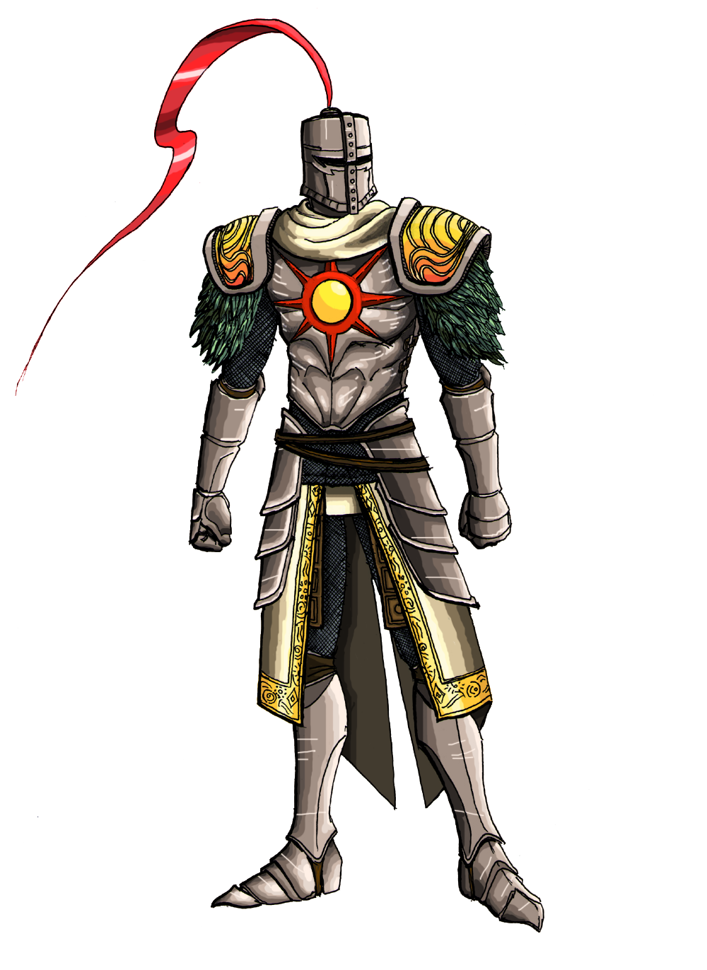 Solaire (color) by MenasLG on DeviantArt