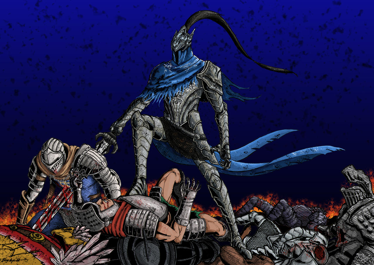 Dark Souls - Artorias The Abysswalker by MenasLG