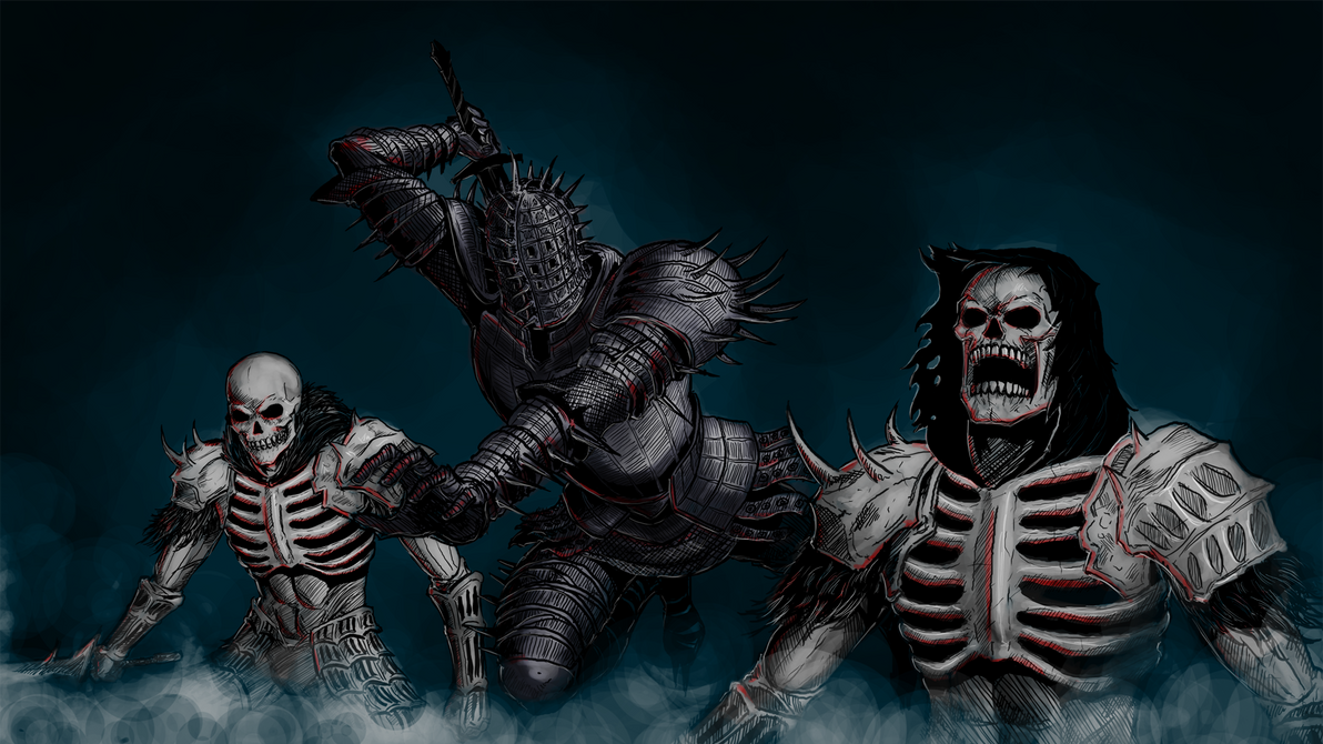 Dark Souls: Darkwraiths by MenasLG