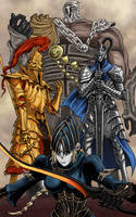 Dark Souls: The Four Knights