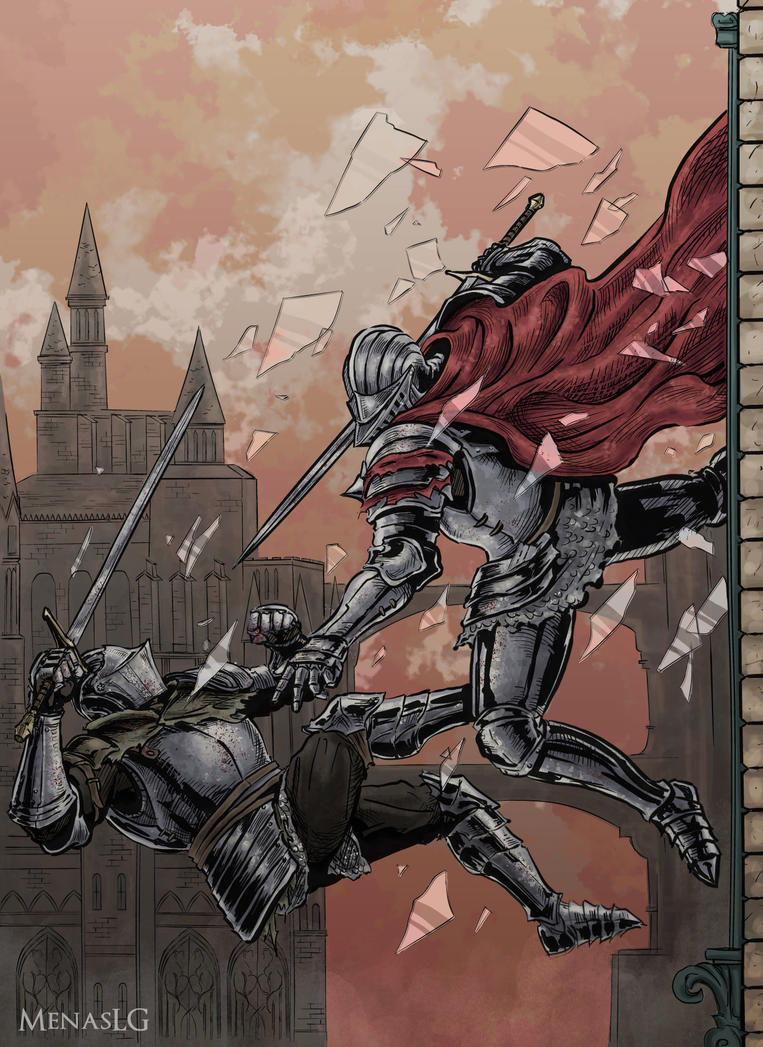 Dark Souls 3 Battle Of Steel By MenasLG