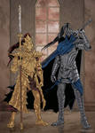 Dark Souls: Ornstein and Artorias