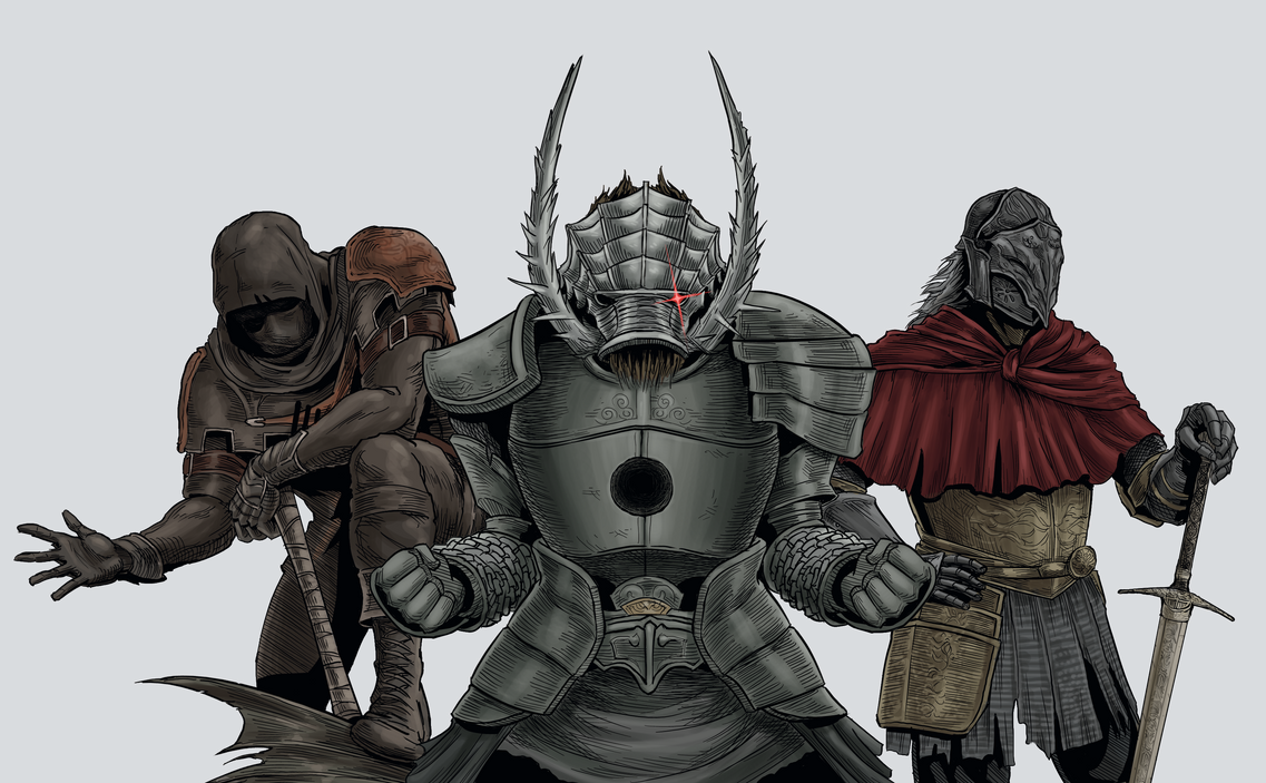Dark Souls Trilogy: The Cursed Undead by MenasLG