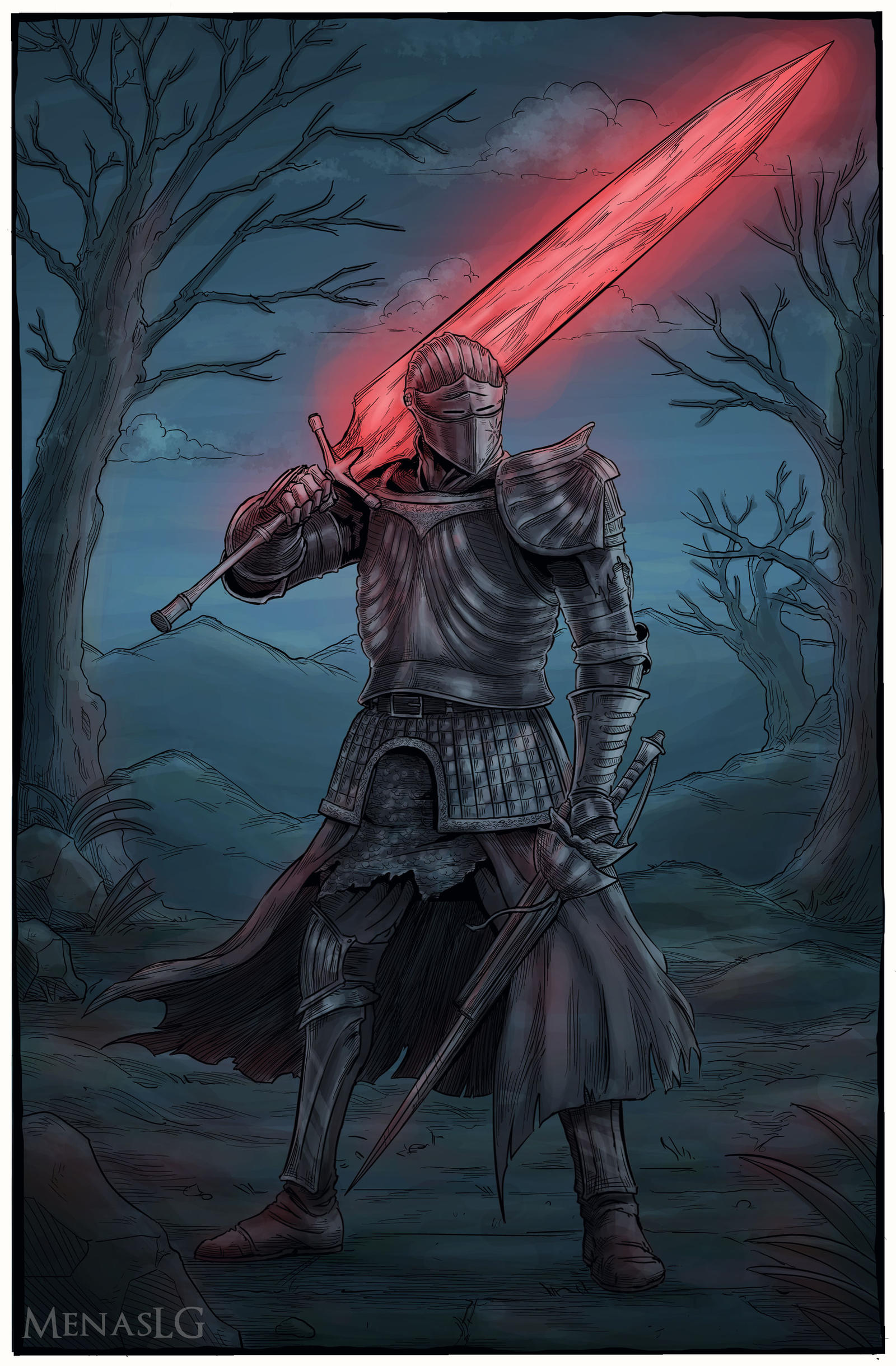 Dark Souls 3 Burial Knight By MenasLG