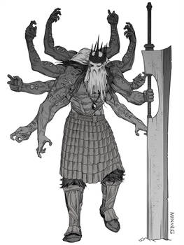Vafthrudnir, Warlord of the old empire