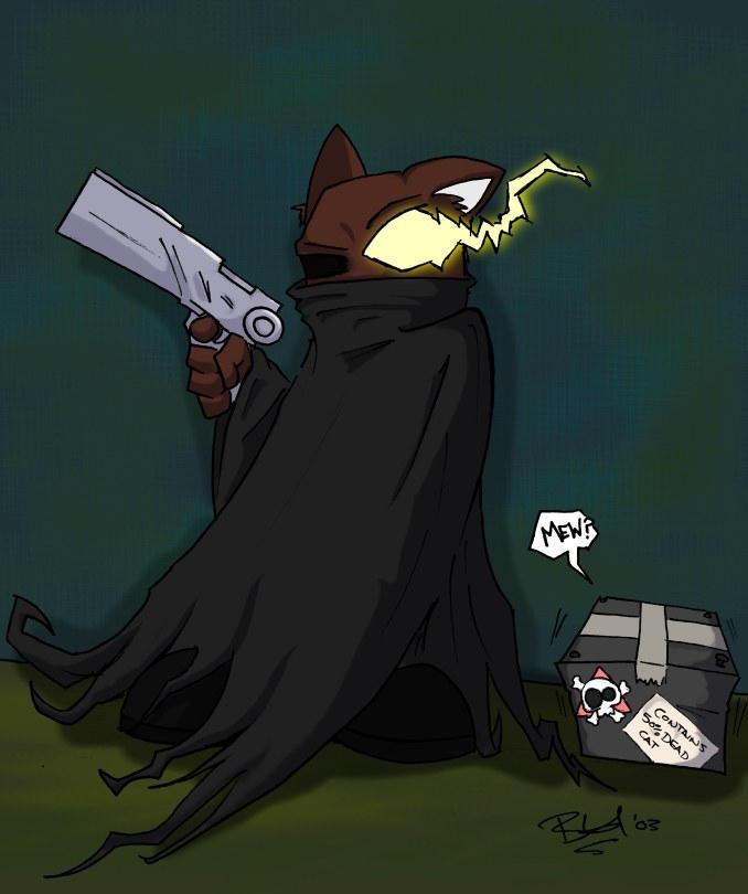 Schrodingers cat by evilchibiminion