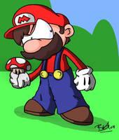 Itsa Mario by evilchibiminion