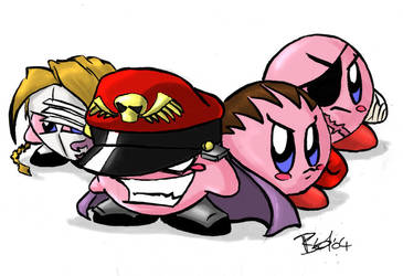 Kirby bosses by evilchibiminion