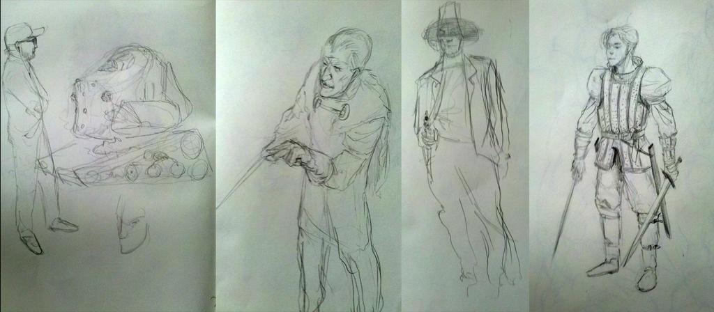 Sketchbook #20 by omer88