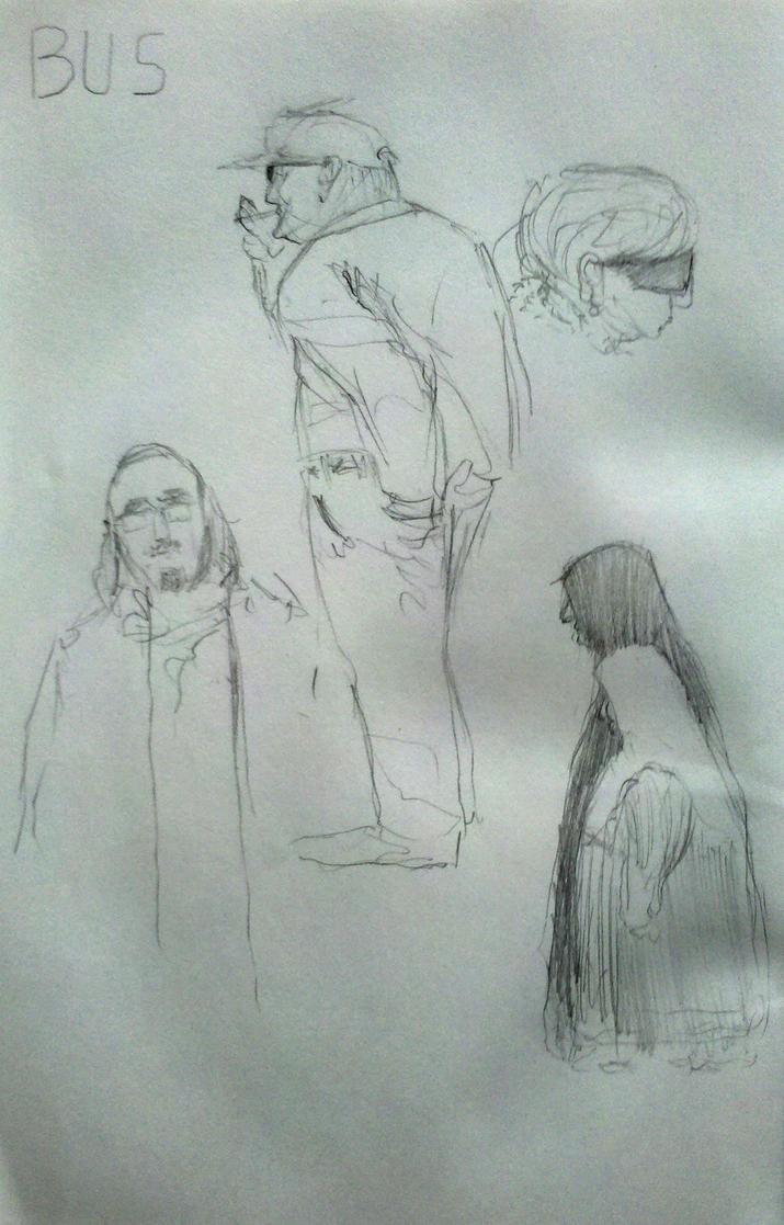 Sketchbook #22 by omer88