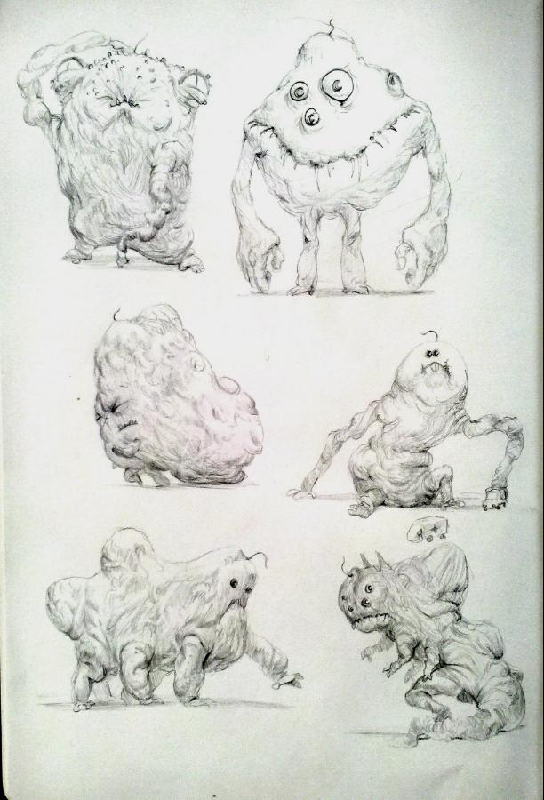 Monsters by omer88
