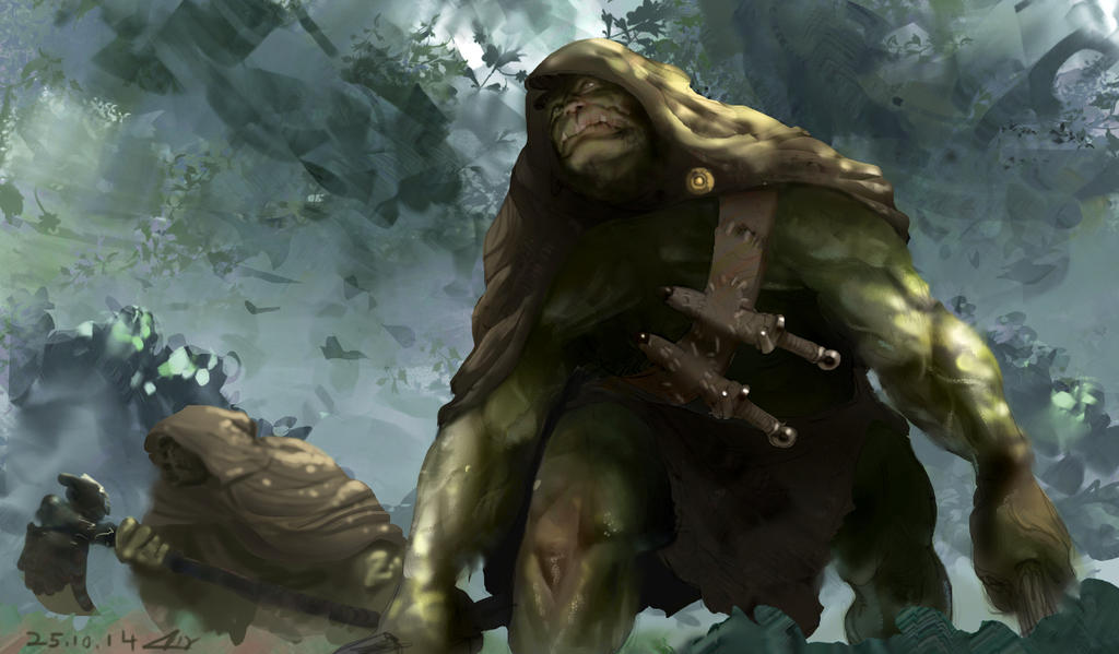 Sneaky Orcs by omer88