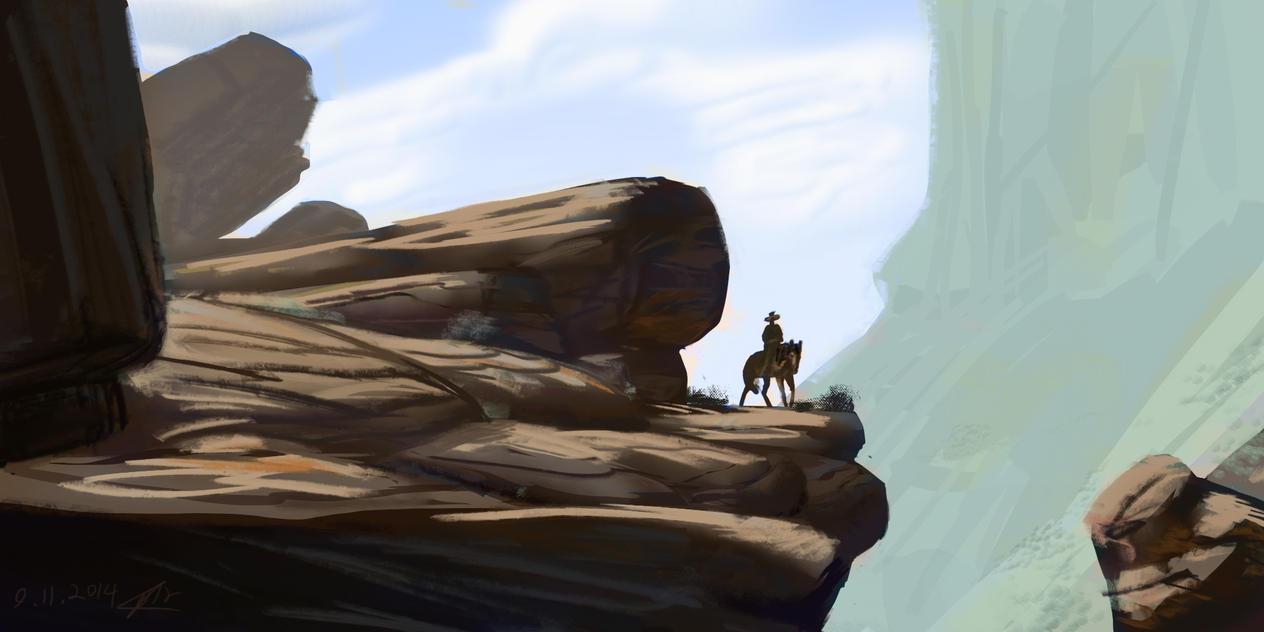 desert guy by omer88