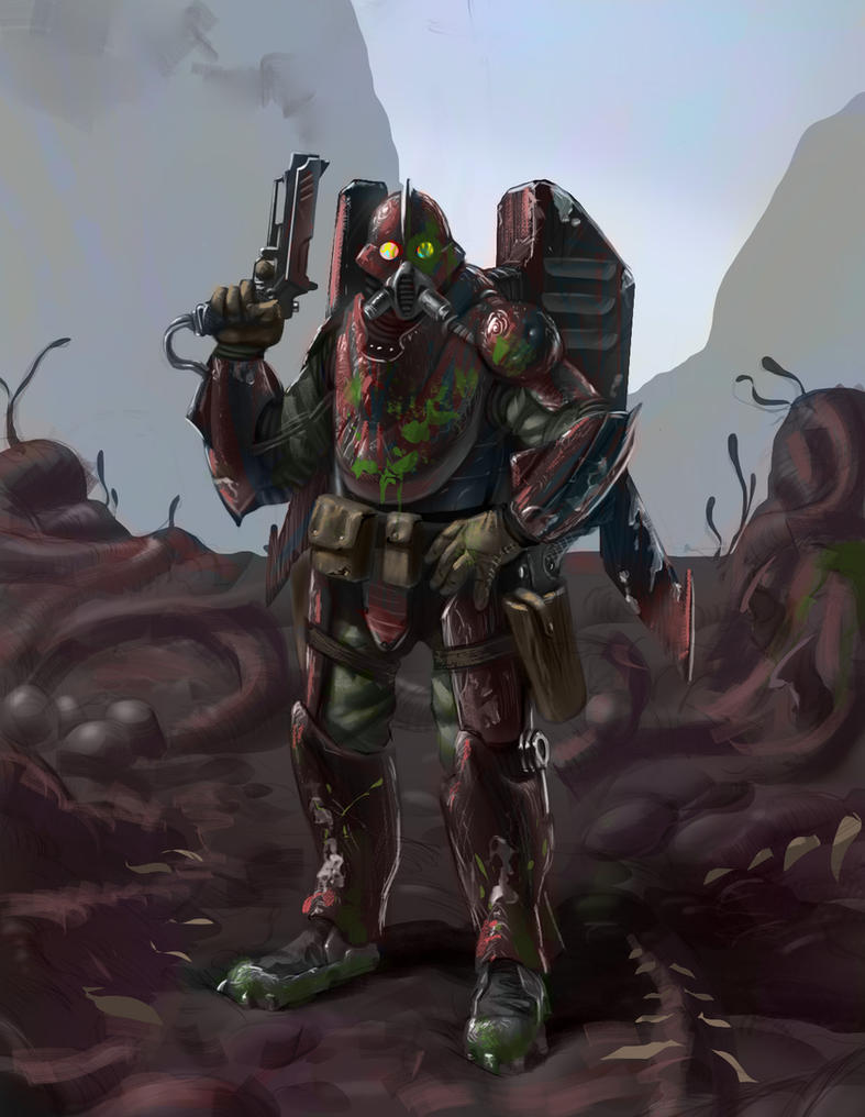 Terran Reaper Redesign by omer88