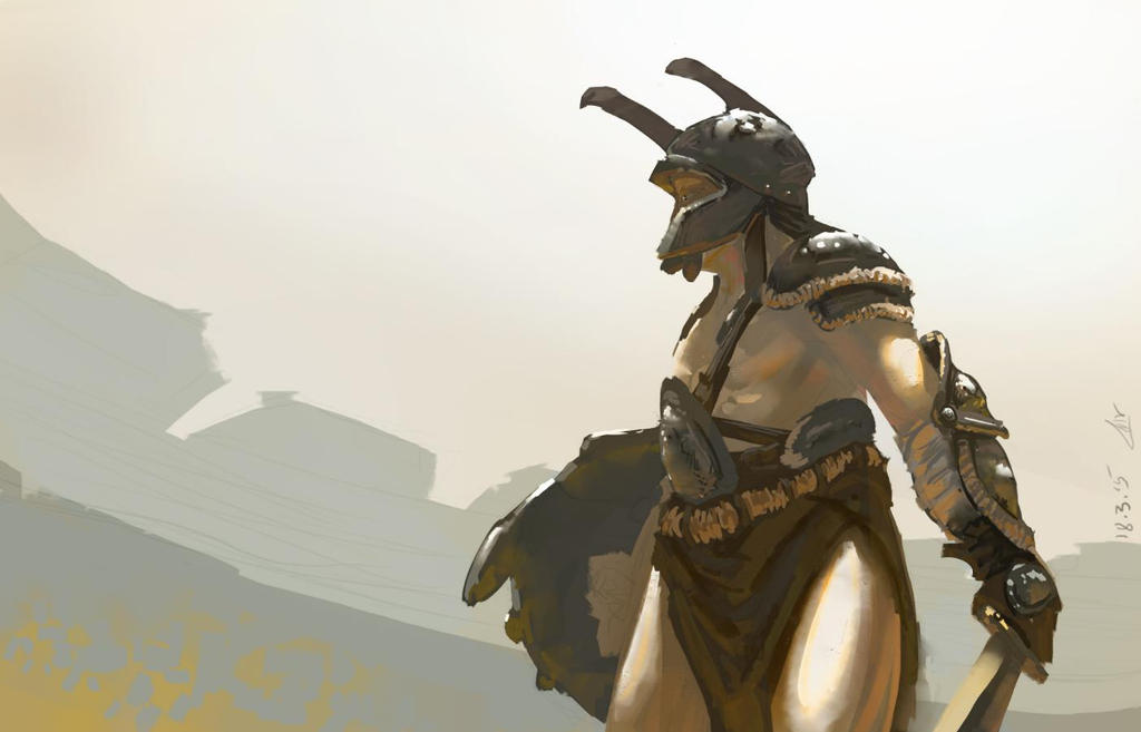 beatle gladiator by omer88
