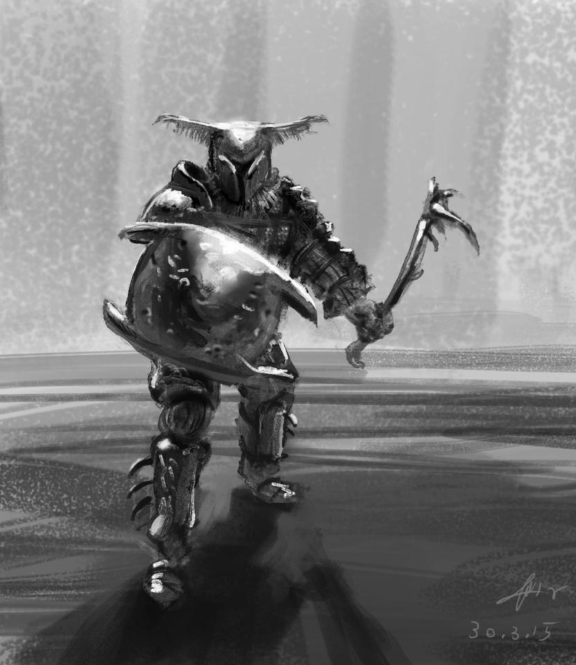 Beetle Gladiatorbeetle gladiator #2 by omer88
