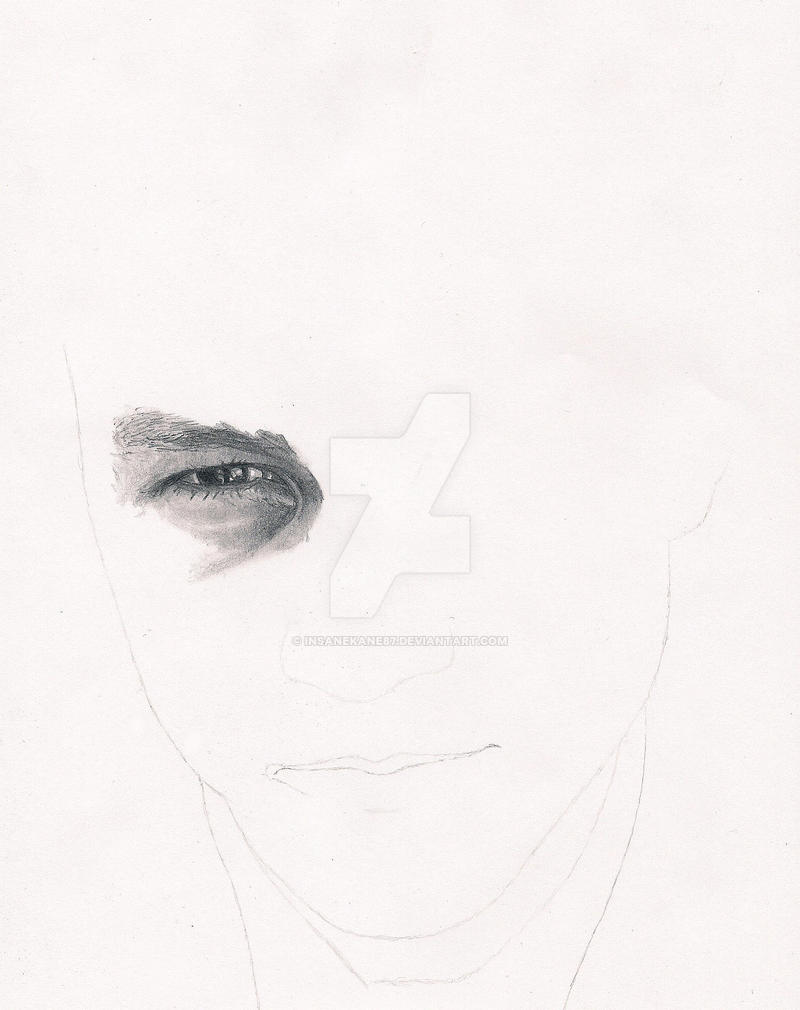 Heath Ledger WIP 1 by InsaneKane87