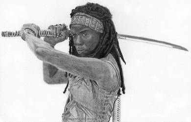The Walking Dead - Michonne by InsaneKane87